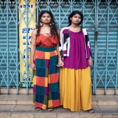 #MadeinSriLanka   Left, Siyana wears: Top by Maus Pants #nowaste by Anuk Earrings by Zazakely (made in Madagascar 🇲🇬)  Right, Ranuli wears: Dress by Anuk Kimono #nowaste by Anuk   Shop the looks now in store and online at www.ShopPR.lk ✨  Models: @goyamodels  Photographer: @susannasgalleryy  .⁠ .⁠ .⁠ .⁠ .⁠ #PRsrilanka #ShopPR #conceptstore #colomboshopping #Alke #sustainablejewellery #wheretoshopcolombo #41hortonplace #fashion #design #style #srilankanstyle #onlineshopping #clothing #boutique #boutiqueshopping #luxuryshopping  #exclusiveshopping #travelshopper #cmb #lka #destinationsrilanka #paradiseroad #colombo #colombolife #madeinsrilanka #anuk #maus